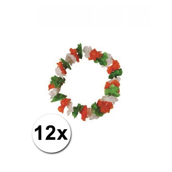 12 Hawaii bloemenkransen