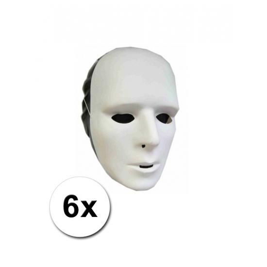 6 grimeer maskers