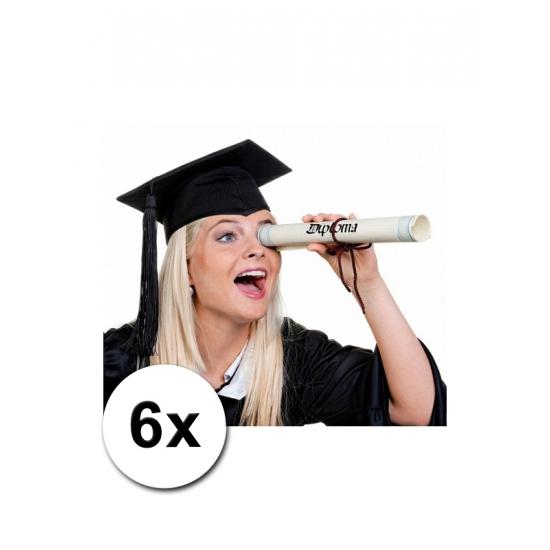 6 Luxe afstudeer/ geslaagd hoedjes
