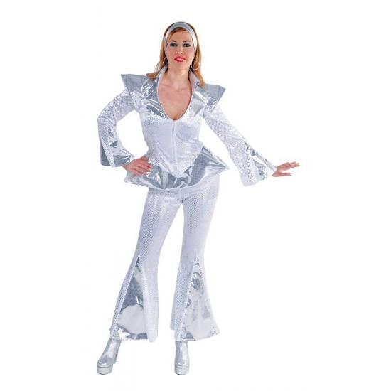 Abba Dancing queen kostuum dames (bron: Funenfeestwinkel)