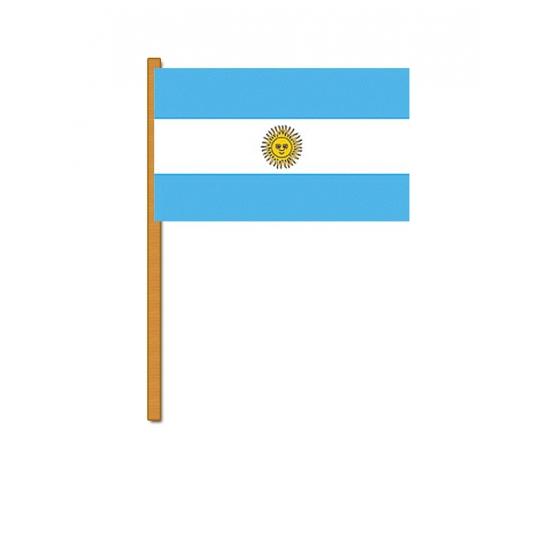 Argentinie zwaaivlaggetjes (bron: Funenfeestwinkel)