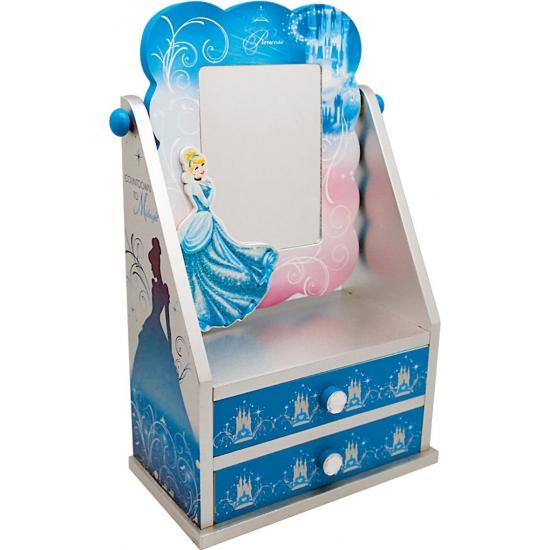 Assepoester kastjes met spiegel