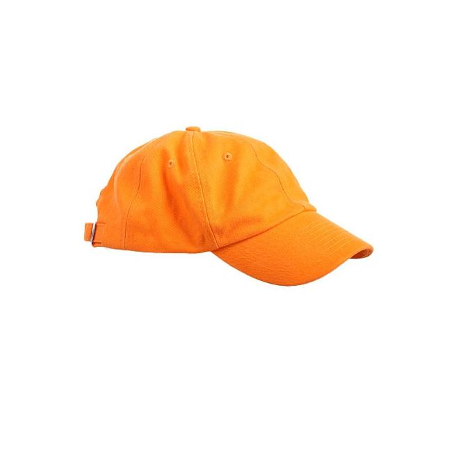 Baseballcaps in oranje kleur (bron: Funenfeestwinkel)