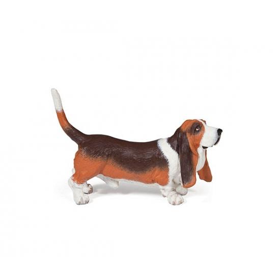 Basset hond speeldiertje 2,5 cm