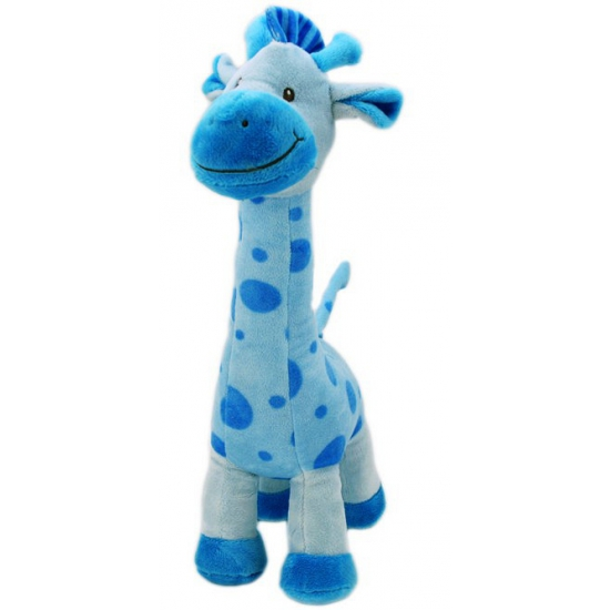 Blauwe giraffe knuffel 51 cm