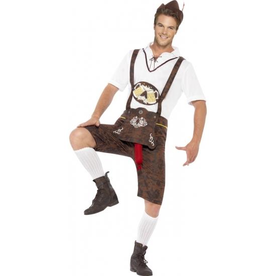 Braadworst kostuum bierfeest voor heren