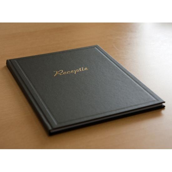 Bruiloft gastenboek zwart (bron: Funenfeestwinkel)