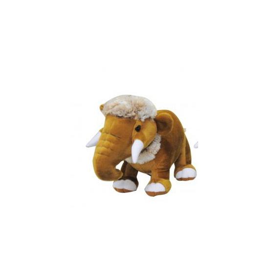 Bruine mammoet knuffeldier