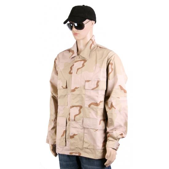 Desert camouflage zomerjas