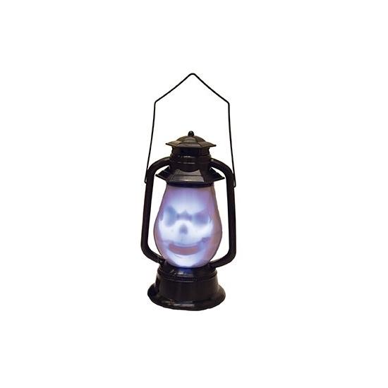 Doodshoofd lantaarn met licht en geluid (bron: Funenfeestwinkel)