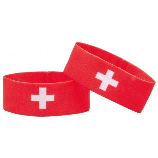 Fan armband Zwitserland (bron: Funenfeestwinkel)