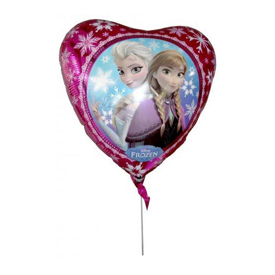 Folie ballon hart Elsa en Anna 43 cm
