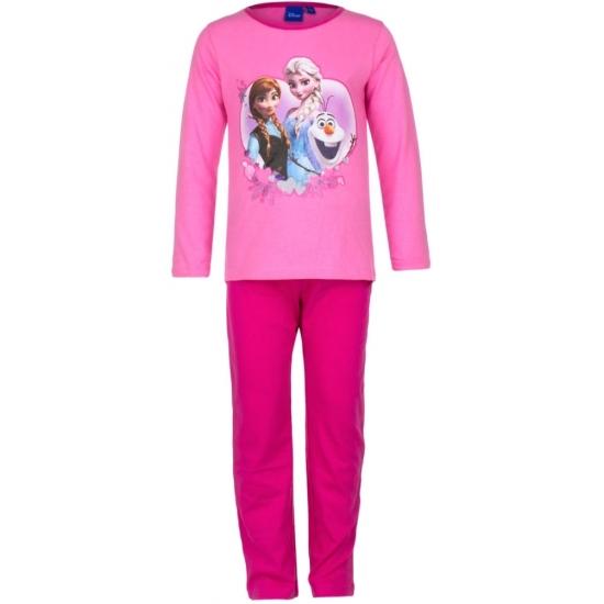 Frozen pyjama in het roze (bron: Funenfeestwinkel)