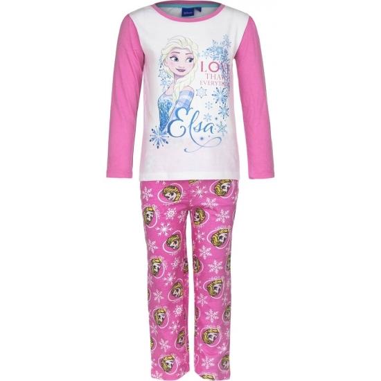 Frozen pyjama in het roze