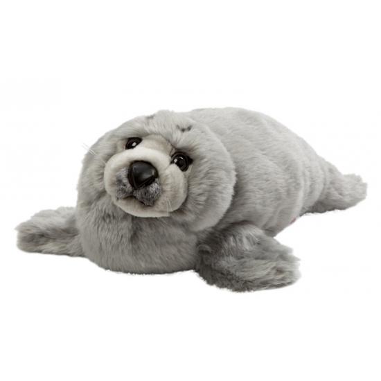 Grijze knuffel zeehond 40 cm (bron: Funenfeestwinkel)