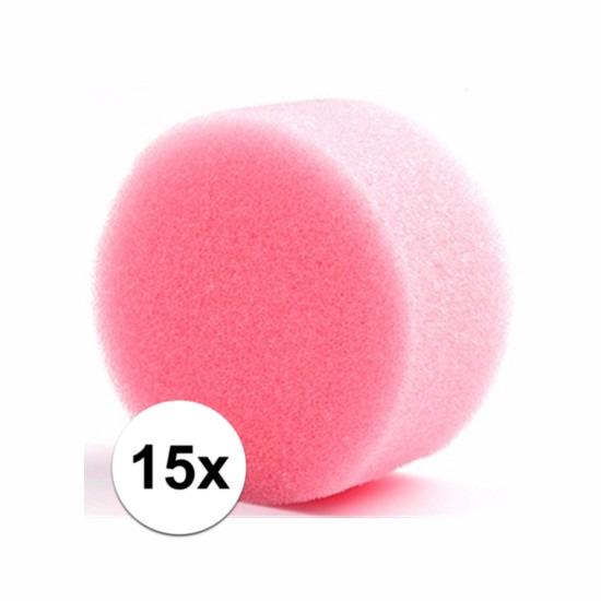 Grimas make up sponsjes rond 15 st. (bron: Funenfeestwinkel)