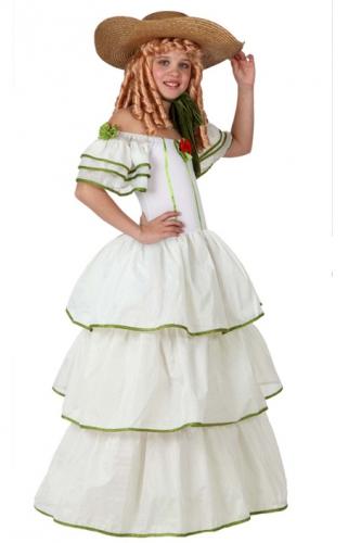 Historische meisjes jurk (bron: Funenfeestwinkel)