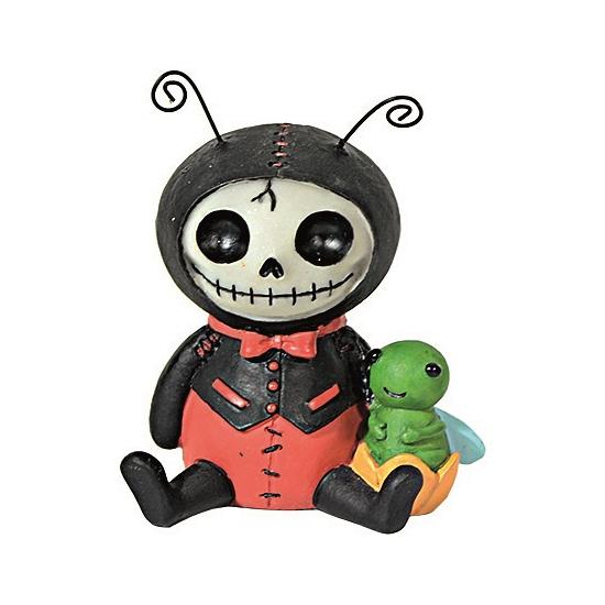 Horror decoratie beeldje Lieveheersbeest (bron: Funenfeestwinkel)