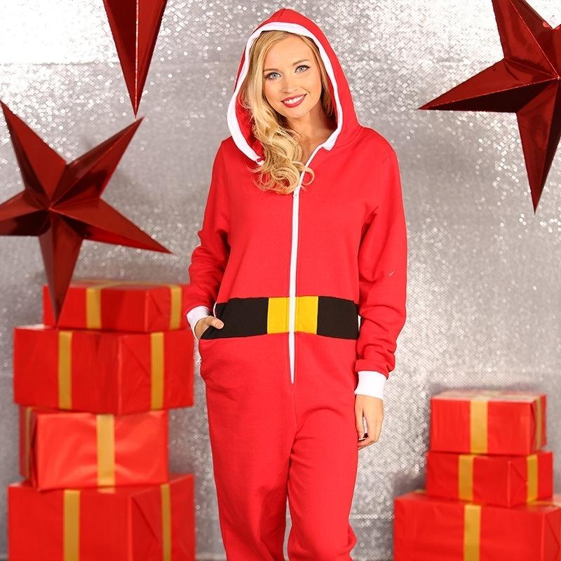 Kerst all-in-one pak voor vrouwen (bron: Funenfeestwinkel)