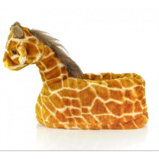 Kinder dieren pantoffels giraffe