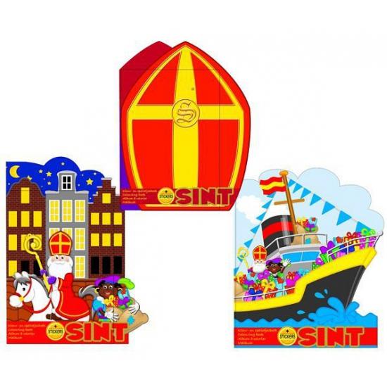 Kleurboek Sinterklaas mijter thumbnail