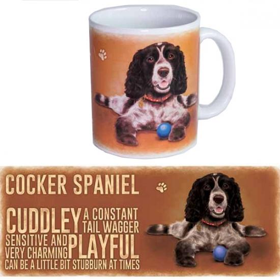 Koffie beker Cockerspaniel hond
