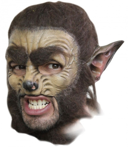 Latex masker weerwolf