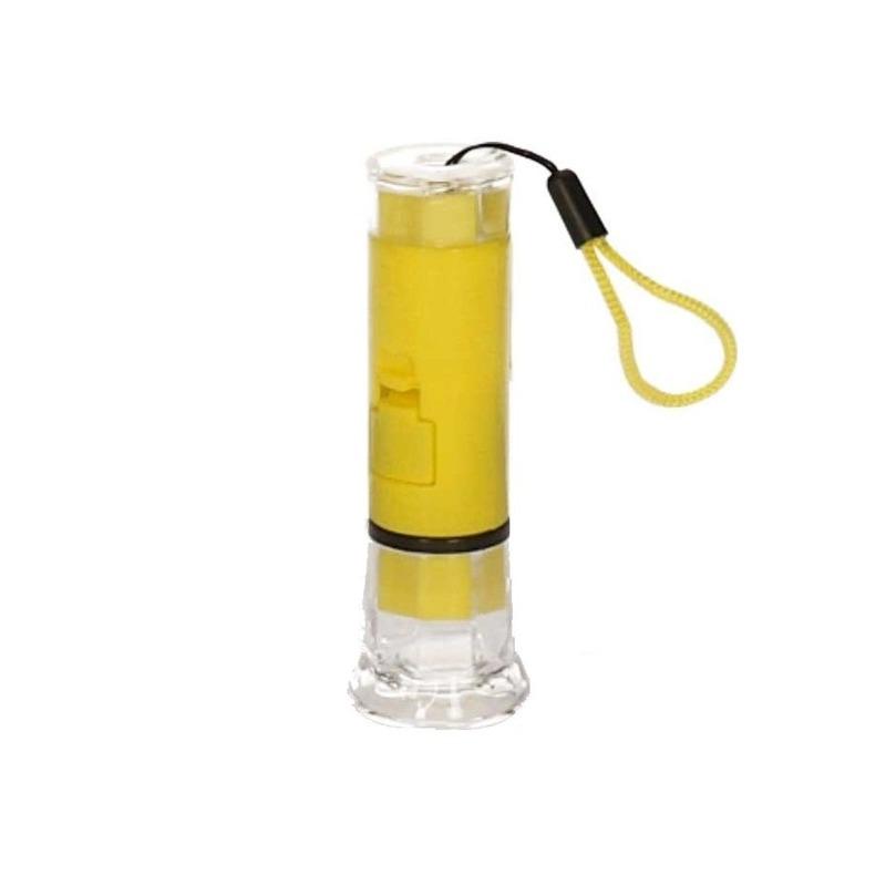 LED zaklamp geel