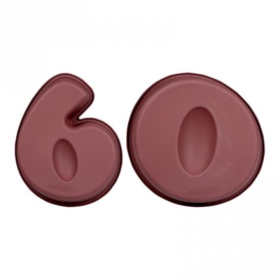 Leeftijd cake vormen 60