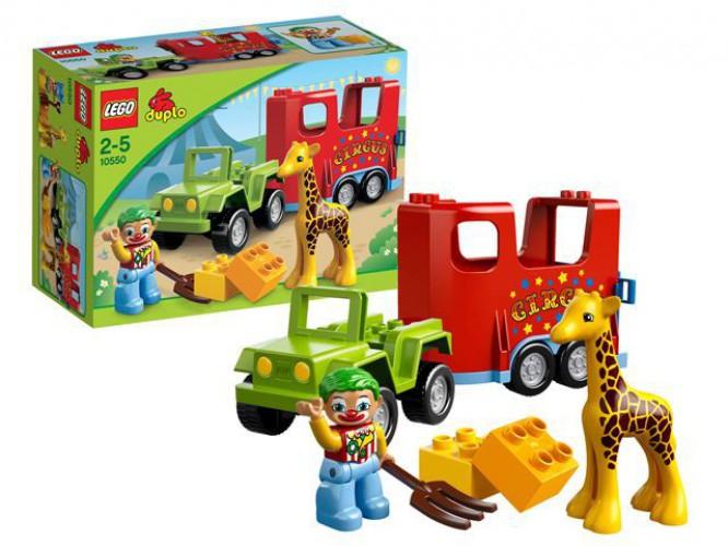 Lego Duplo 10550 Circus karavaan thumbnail