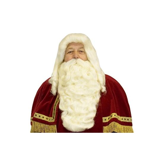 Luxe Sinterklaas baardset thumbnail