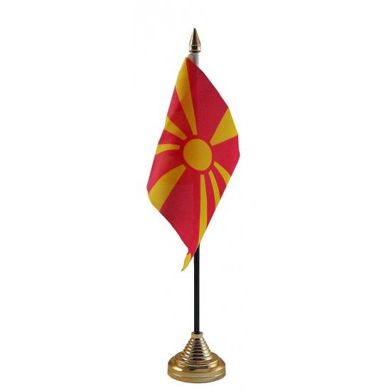 Macedonie tafelvlaggetje (bron: Funenfeestwinkel)