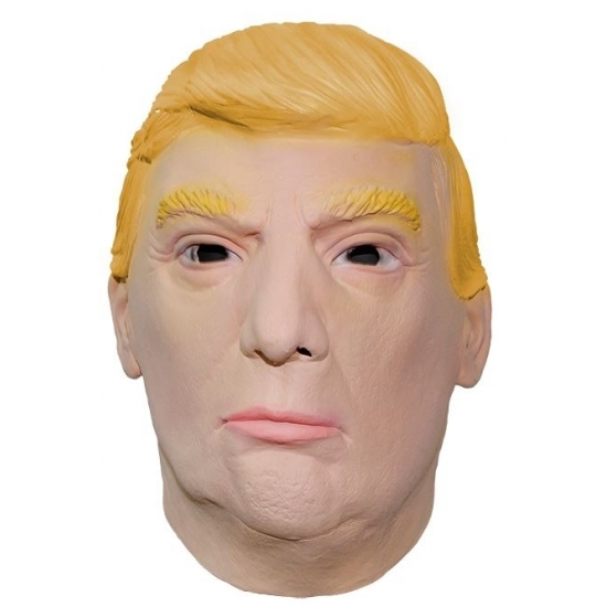 Masker president Donald Trump
