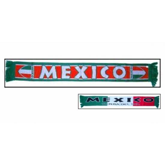 Mexico voetbal sjaaltje (bron: Funenfeestwinkel)