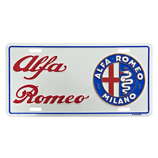 Muurplaatje Alfa Romeo