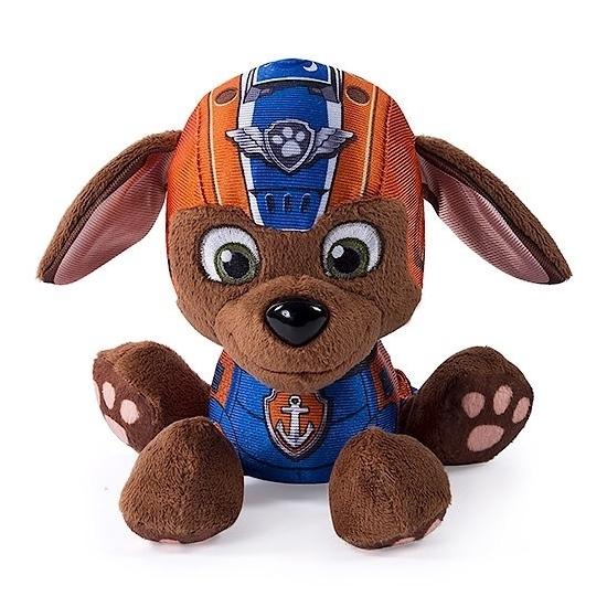 Oranje Paw Patrol labrador knuffel 15 cm thumbnail