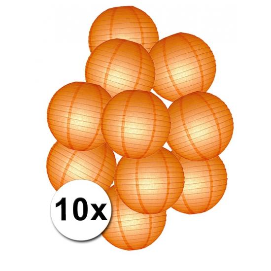 Pakket met oranje lampionnen (bron: Funenfeestwinkel)