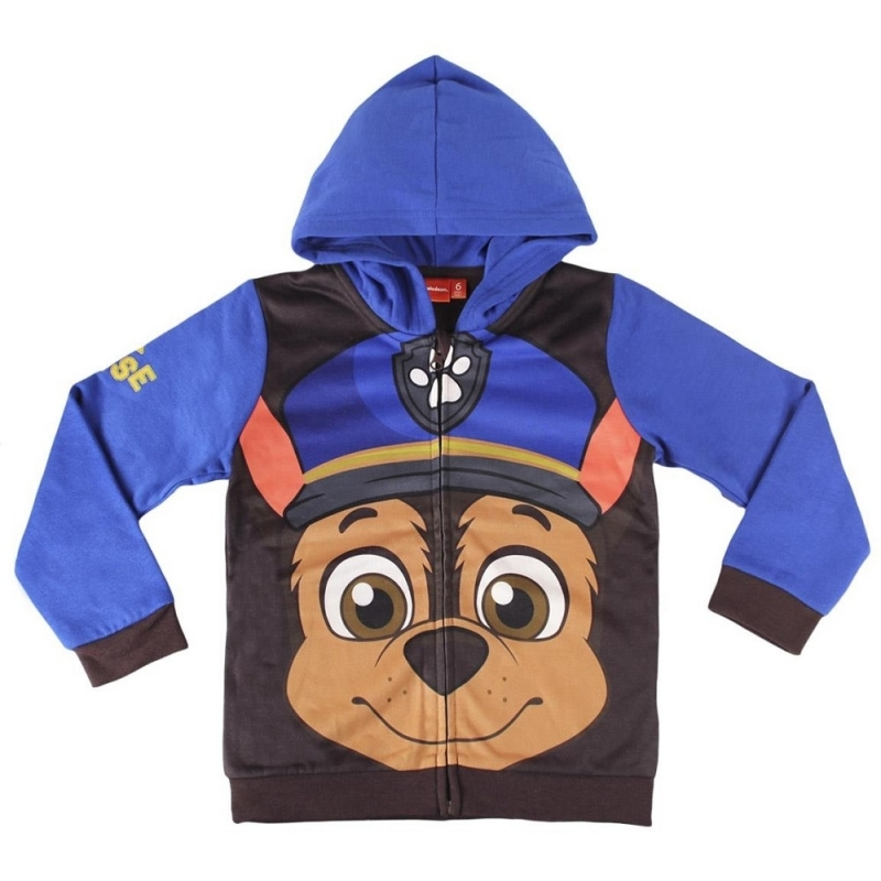 Paw Patrol Chase kinder sweater met capuchon thumbnail