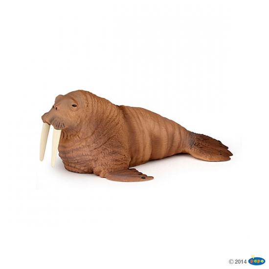 Plastic walrus speeldiertje 13 cm