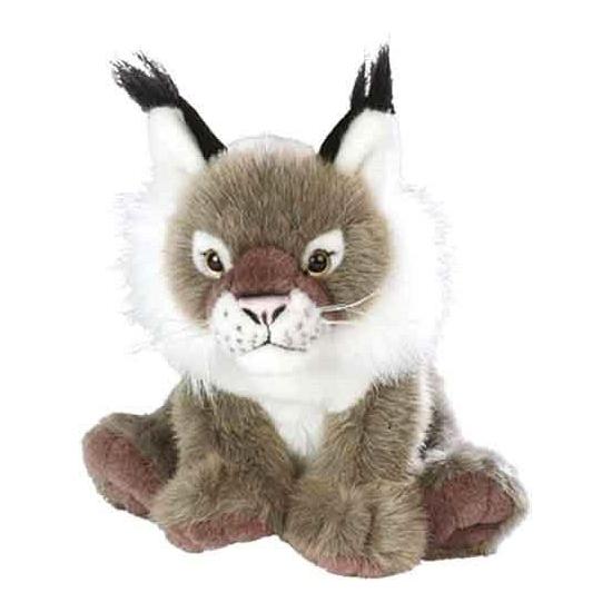 Pluche knuffel Europese lynx 30 cm