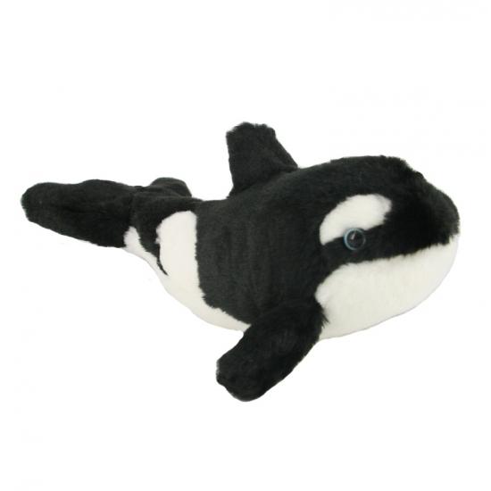 Pluche orka knuffels 18 cm
