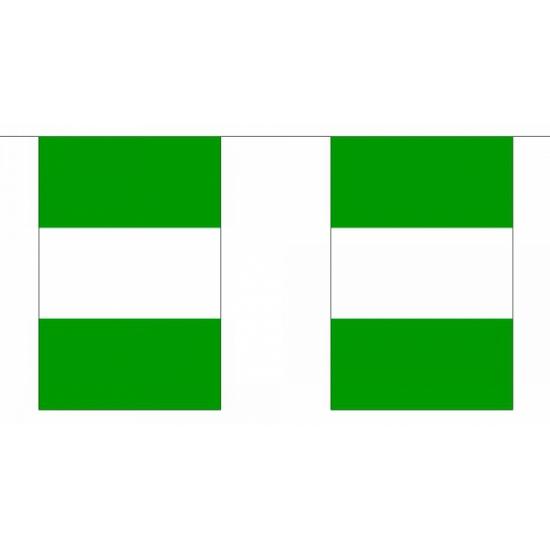 Polyester Nigeria vlaggenlijn