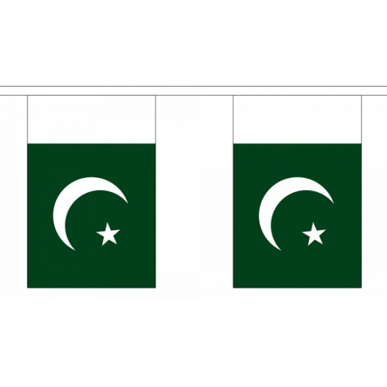 Polyester Pakistan vlaggenlijn