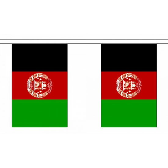 Polyester vlaggenlijn afghanistan (bron: Funenfeestwinkel)