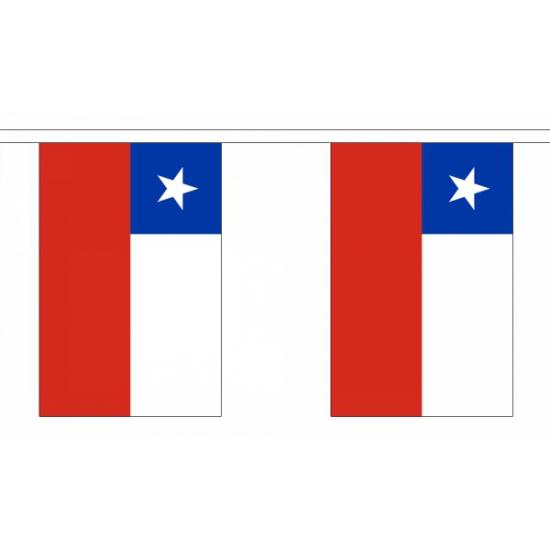 Polyester vlaggenlijn Chili