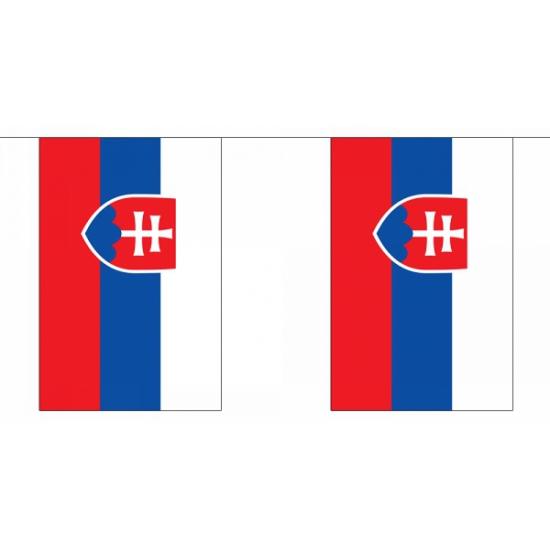 Polyester vlaggenlijn Slowakije