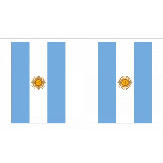 Polyester vlaggenlijn van Argentinie
