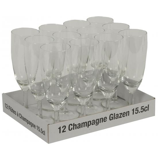 Prosecco glazen 12 stuks (bron: Funenfeestwinkel)