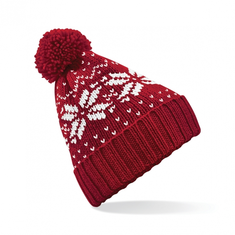 Rode wintermuts Snowstar Classic (bron: Funenfeestwinkel)