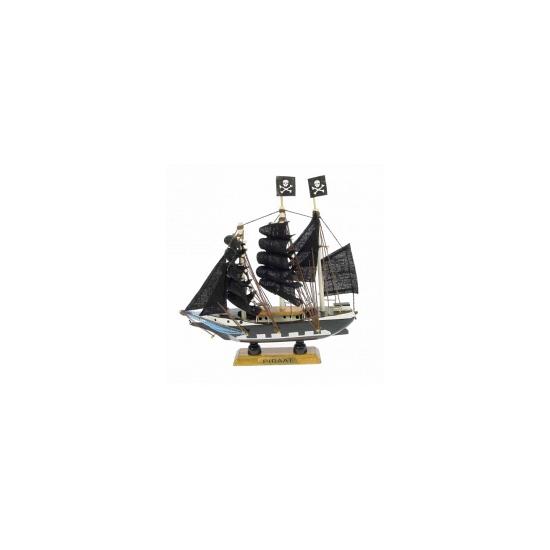 Schaalmodel piratenschip 16 cm (bron: Funenfeestwinkel)